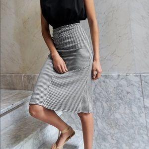 Brand new Zara plaid skirt